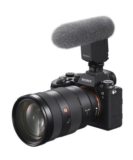 Sony-Alfa-A9-II-Mikrofon Sony α9 II Profesyonel Full Frame Fotoğraf Makinesi