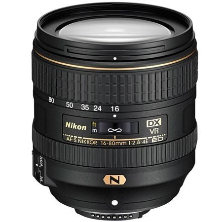 AF-S-DX-NIKKOR-16-80mm-f-2.8-4E-ED-VR Nikon'un, DSLR Fotoğraf Makineleri İçin Listeden Kaldırdığı 7 Lens