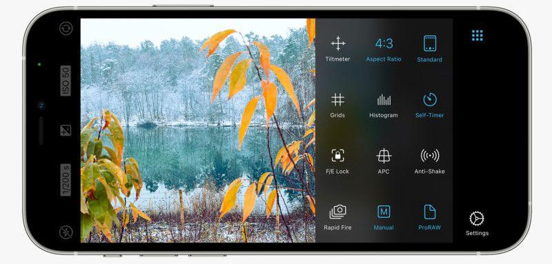 ProCamera 2021 Yılının En İyi Iphone Kamera Uygulamaları