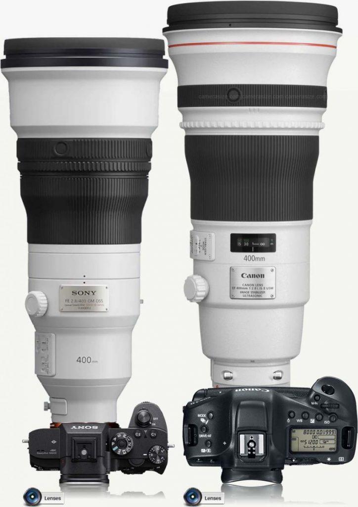 Sony-400mm-f2.8-lens-vs-Canon-400-mm-f2.8-724x1024 Sony Alfa En Yüksek Odak Uzaklığına Sahip Lensler: Karşılaştırma