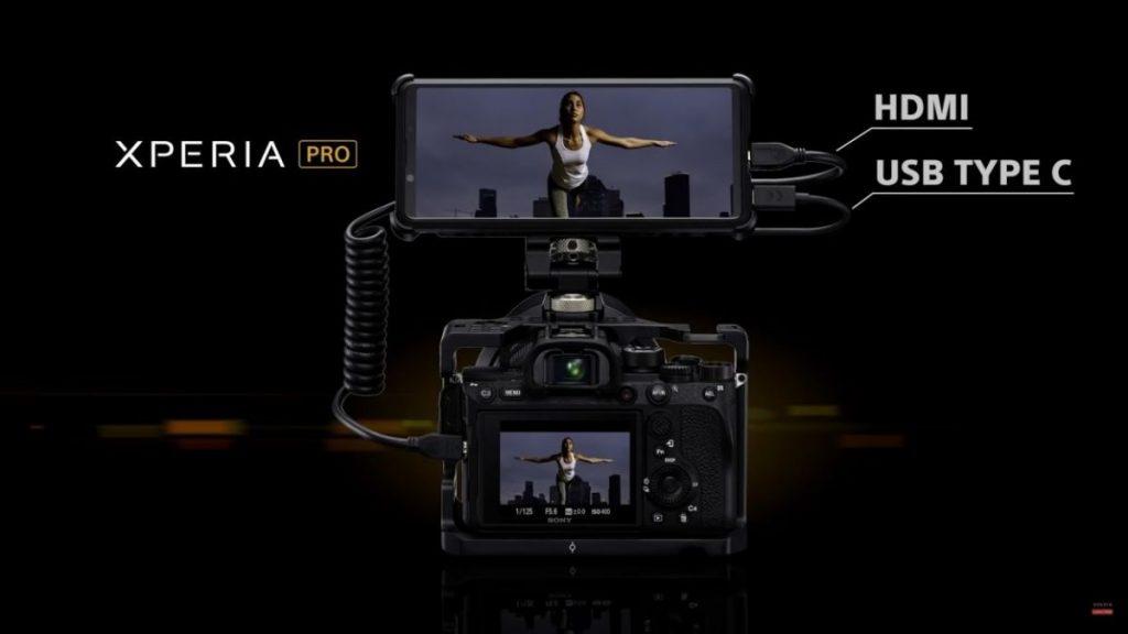 Sony-Xperia-Pro-Cep-Telefonu-1024x576 Sony Xperia Pro ile Cep Telefonunda Zirveyi Yaşayın