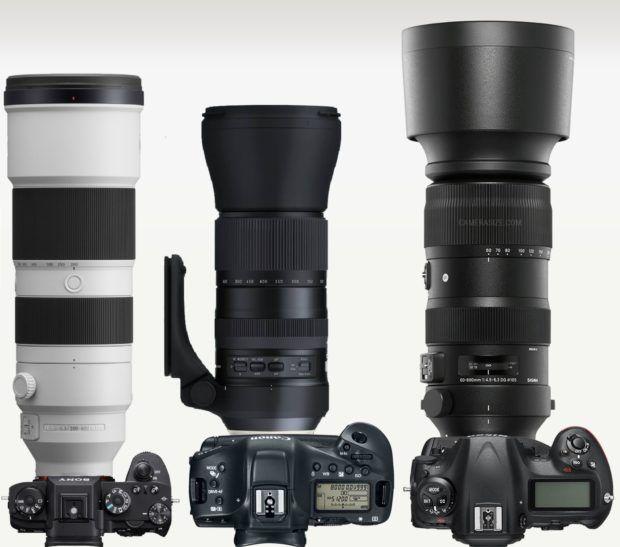 Sony-fe-200-600-vs-tamron-150-600-vs-sigma-60-600 Sony Alfa En Yüksek Odak Uzaklığına Sahip Lensler: Karşılaştırma
