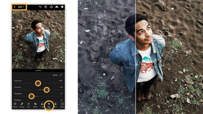 lightroom-iphone 2021 Yılının En İyi Iphone Kamera Uygulamaları