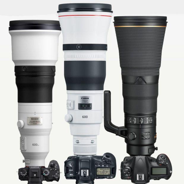 sony-fe-600-gm-vs-canon-600-vs-nikon-600 Sony Alfa En Yüksek Odak Uzaklığına Sahip Lensler: Karşılaştırma