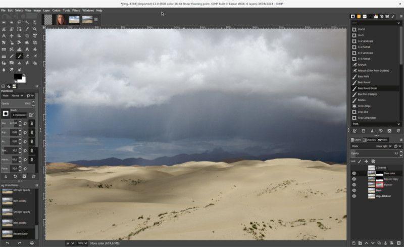 GIMP 2021'in En İyi Ücretsiz Fotoğraf Düzenleme Programları