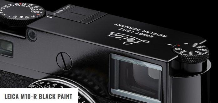 Leica-M10-R-Black-Paint-Limited-Edition Leica M10-R Black Paint Limited Edition 40MP - Duyuruldu