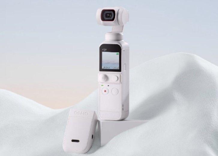 DJI-pocket-2-beyaz DJI Pocket 2 Beyaz Renkte Geliyor