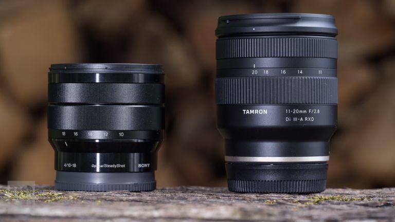 Sony-E-10-18mm-vs-Tamron-11-20mm Tamron 11-20mm F2.8 Di III-A RXD İncelemesi