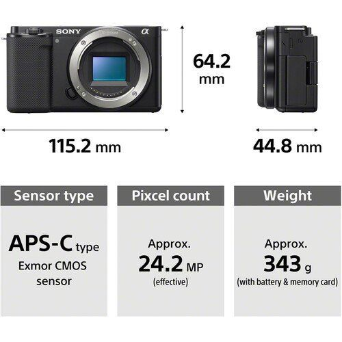 sony-zv-e10-16-50mm Sony ZV-E10 Vlogger Kamera Özellikleri ve Fiyatı
